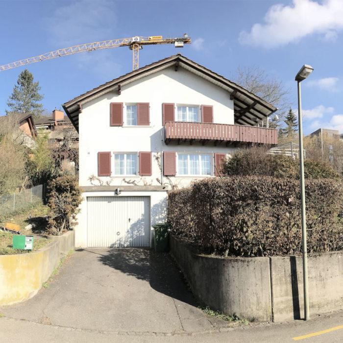 Umbau und Dachaufstockung EFH Liestal